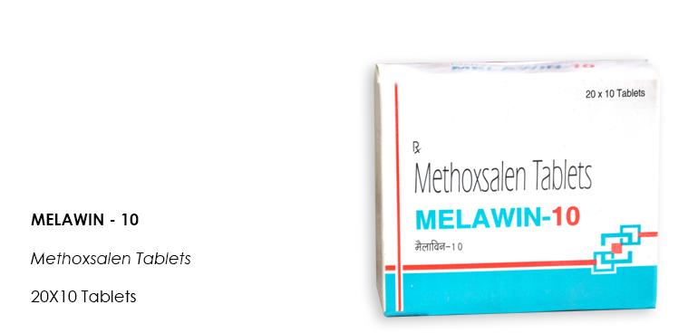 Melawin-10 Methoxsalen 20X10 Tablets